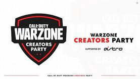 CoD WARZONE CREATORS PARTY