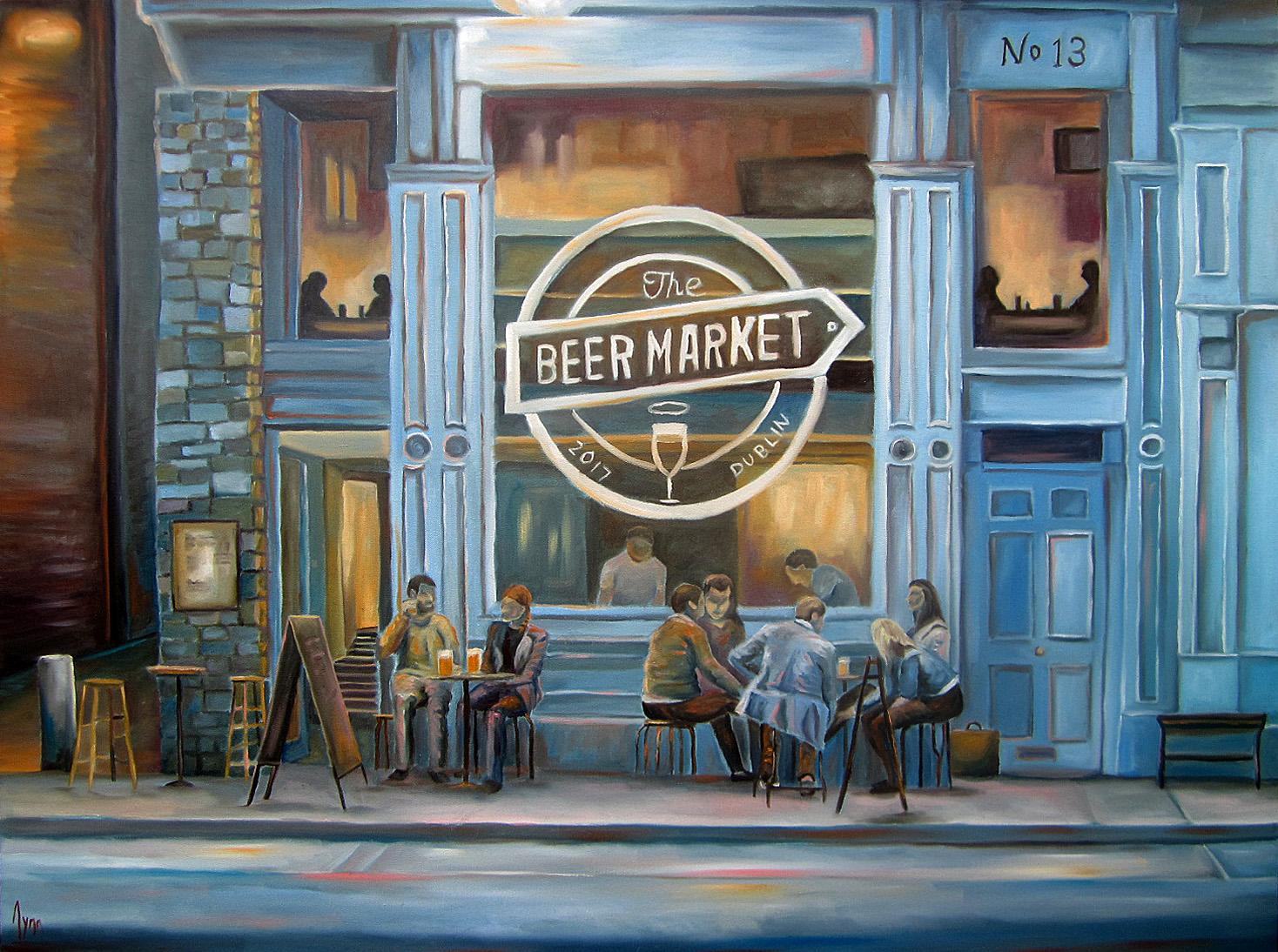 7. The Beer Market, Dublin 2017 30x40