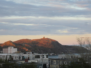 Just back from St. John's, Newfoundland! New Inspiration....