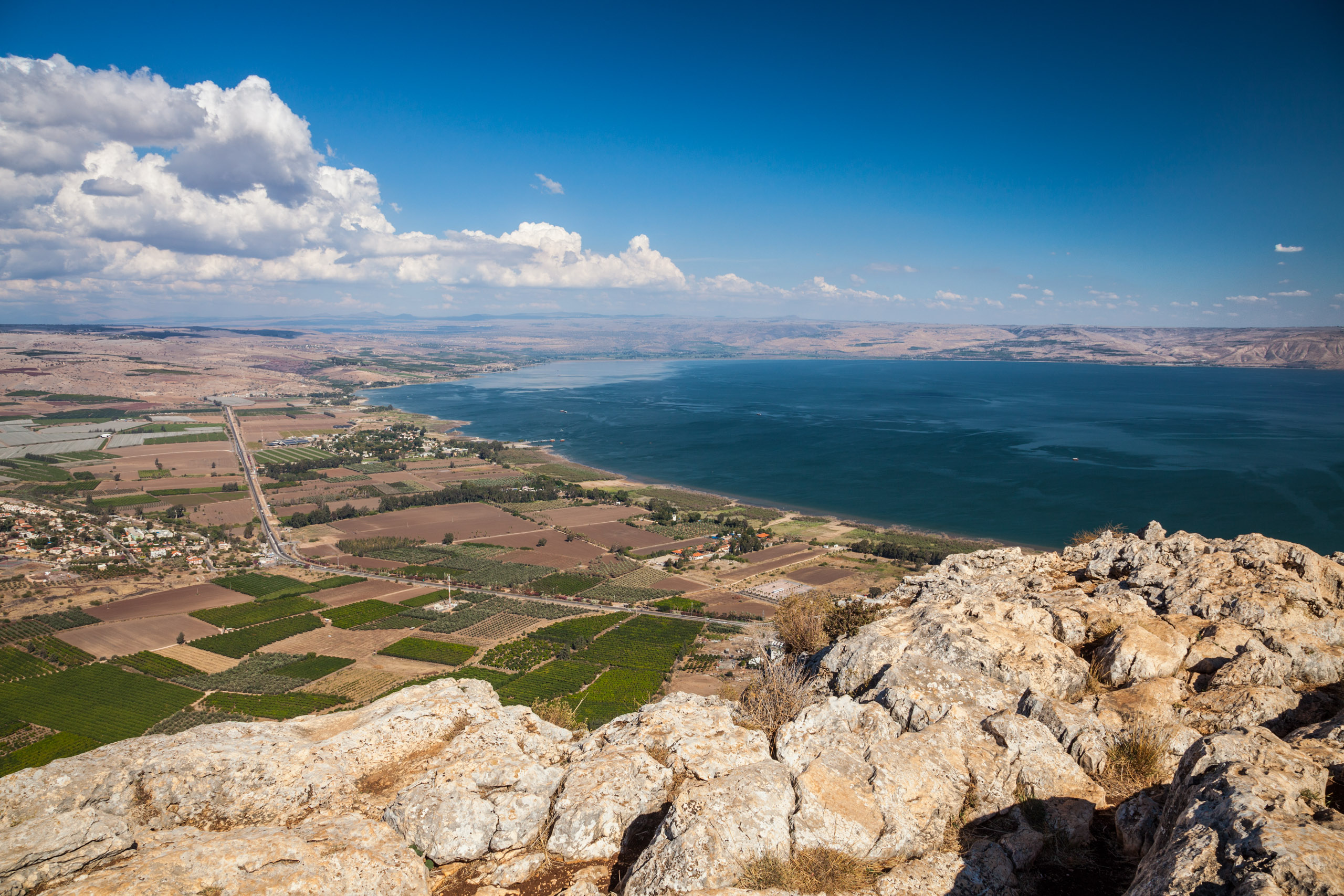 Top of Mount Arbel