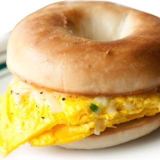 Egg Sandwich on a Bagel