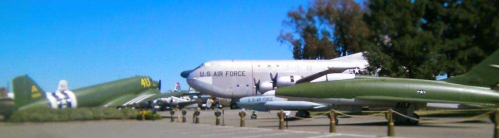 Aircraft at Travis Air Force Base Fairfield, California