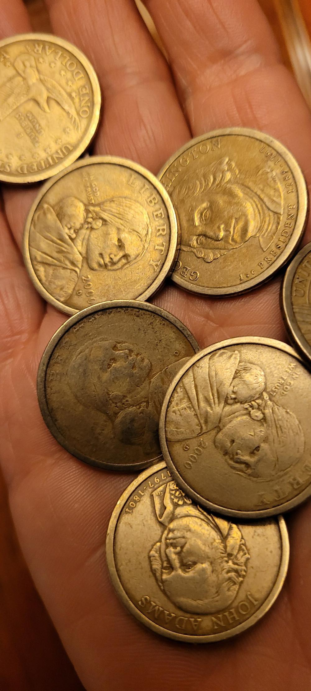 Sacagawea Dollars in Ecuador