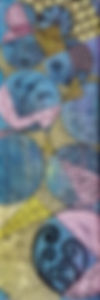 Pastel tangle