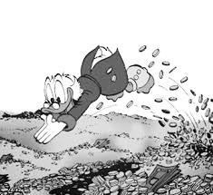 Vandaag gaat het over Dagobert Duck.
