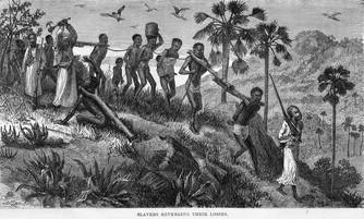 Vandaag gaat het over slaven.
