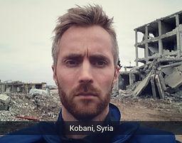 Pål Schaathun, Kobani, Syria