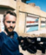 Pål Schaathun på jobb i Syria