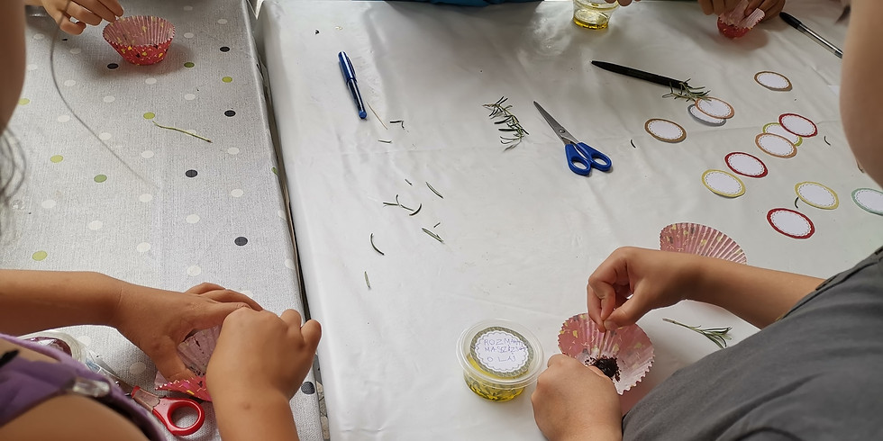 ELMARAD ! Nyárközépi projektnap 3: Kísérletezős kencefice készítés