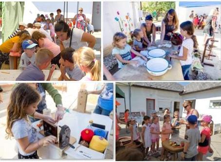 Projektnap a Szakicska-házban általános iskolás csoportoknak
