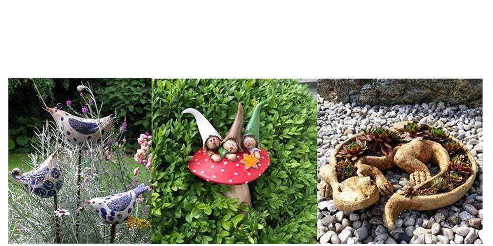 Családi Kerámia: Állatok, manók, gombák, szélcsengők a kertben 2 alk.