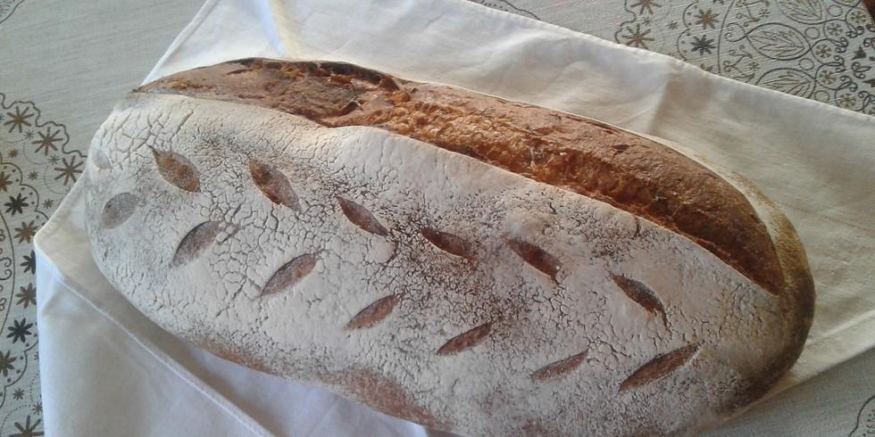 Kézműves kenyér készítése