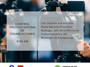 Control Político Oficina de Comunicaciones