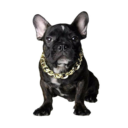 CUBAN LINK DOG CHAIN