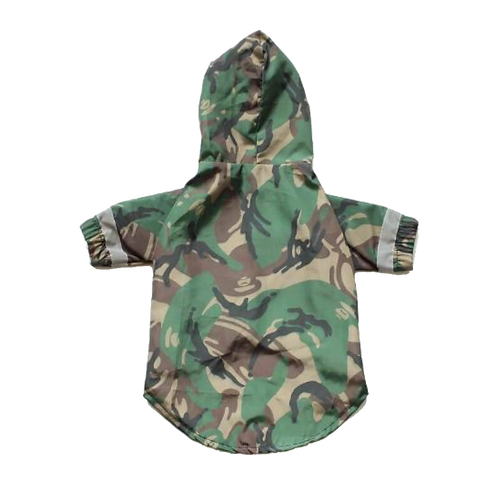 BATHING PUP CAMO WINDBREAKER