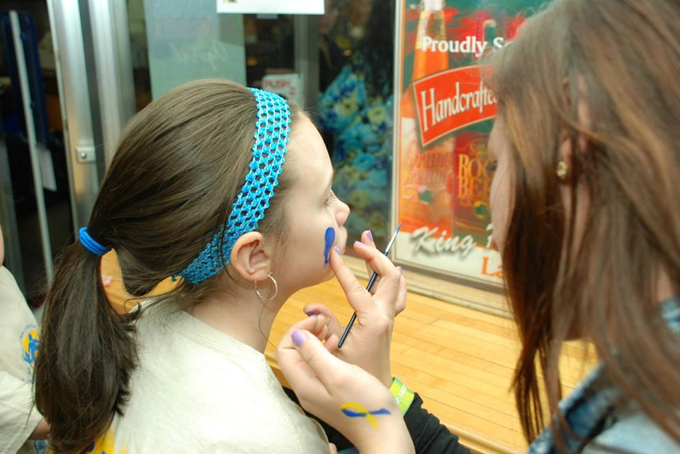 Face painting- Thank you Molly!