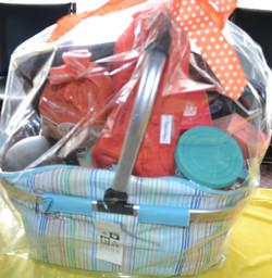 Nicole Franz' generous basket!