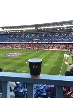 Cupcoffee au FC Barcelone