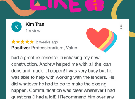 This week's client's review 고객 리뷰