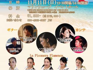 11/11(日) La Piconera Flamenca フラメンコ発表会Vol.1