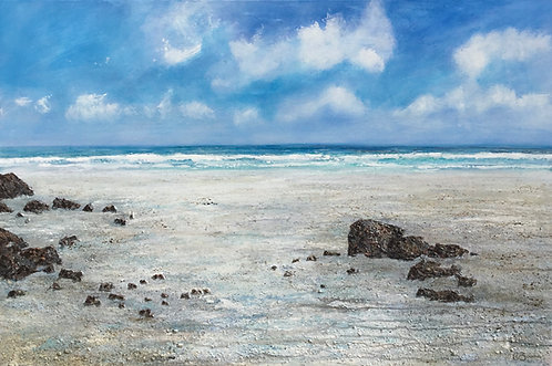 Oh To Be There 61x91cm