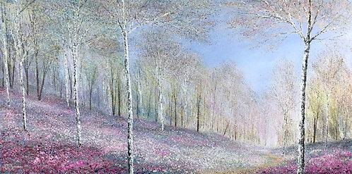 The Spring Woodland Awakes 50x100cm