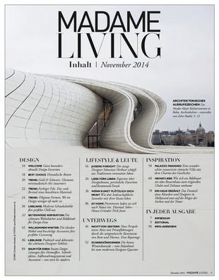 MADAME Living 11/2014