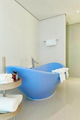 Interior Fotografie: Suite des Design Hotels SIDE in Hamburg