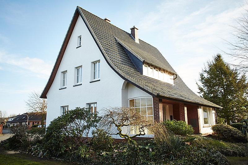 Haus aus den 50er Jahren, Außenansicht