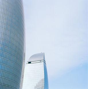 Flame Towers, Baku, Aserbaidschan