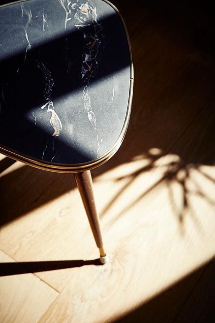 Interiorfotografie Nierentisch 50er Jahre