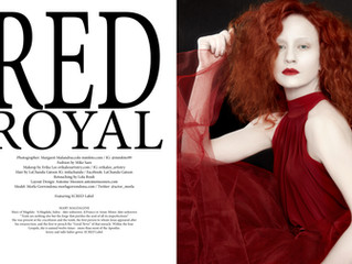 Red Royal Photo Shoot for Xiox