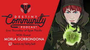 Destiny Community Podcast Interview