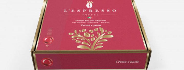 Crema e Gusto Business Pads (50 Stk.)