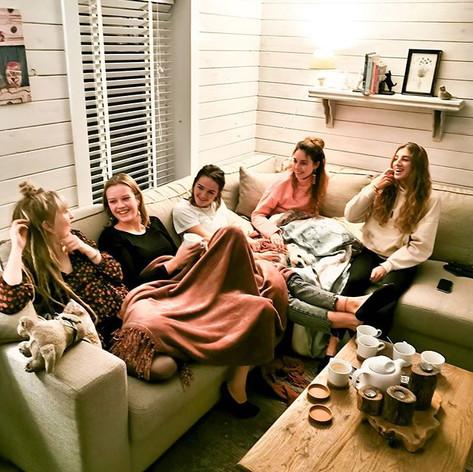 Maison Marie friends in salon .jpg