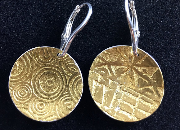 Ancient design Kuem Boo earrings