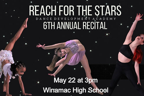 Saturday, May 22nd Recital