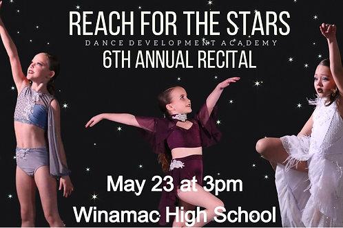 Sunday, May 23rd Recital