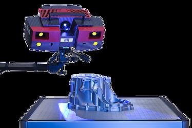 3D Scan optische Vermessung