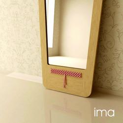 zrkadlo Prešívanec II 03