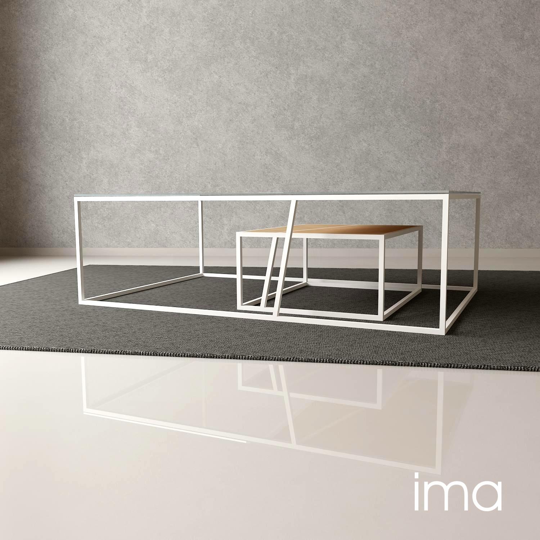 malý stolík Listový 04