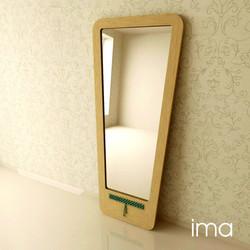 zrkadlo Prešívanec II 01