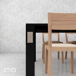stôl jedálenský Elegán 05