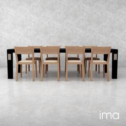 stôl jedálenský Elegán 03