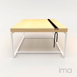 konferenčný stolík Prešívaný 02