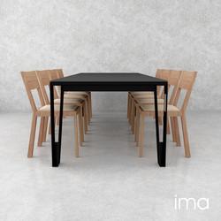stôl jedálenský Elegán 04