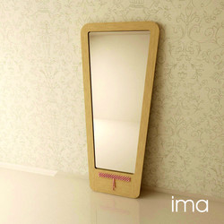 zrkadlo Prešívanec II 04