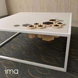 konferenčný stolík BeeTable 02
