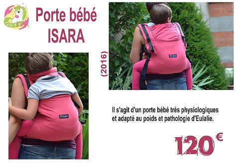 Porte bébé adapté