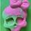 Thumbnail: Lucy's Skull Bath Bomb Mold